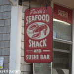 Faith's Seafood Shack signage