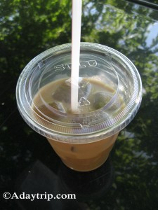 Iced Coffee from The Provender
