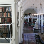 The Boston Athenaeum is a famous place in Boston