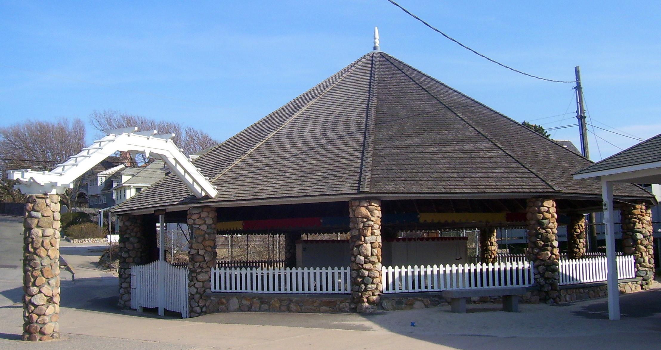 Flying Horse Carousel In Rhode Island