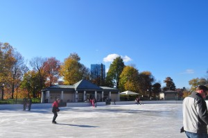 Frog Pond ice skating is a hidden romantic Boston activity that every couple must try.