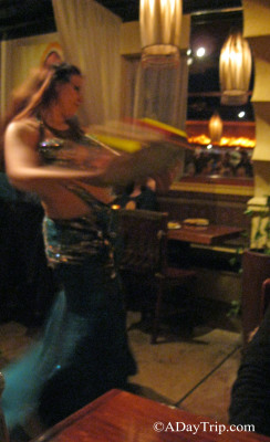Belly Dancer at India Restaurant